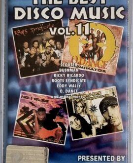 THE BEST DISCO MUSIC vol.11  SCOOTER, BUSHMAN..audio cassette