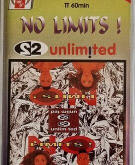 2 UNLIMITED  NO LIMITS! audio cassette