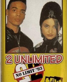2 UNLIMITED  NO LIMIT audio cassette