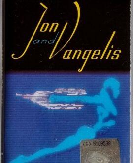 JON & VANGELIS  THE BEST OF audio cassette