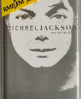 MICHAEL JACKSON  INVINCIBLE audio cassette