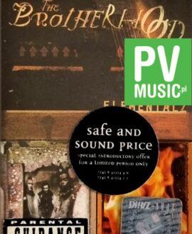 THE BROTHERHOOD  ELEMENTALZ audio cassette