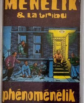 MENELIK & LA TRIBU  PHENOMENELIK audio cassette