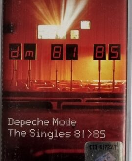 DEPECHE MODE  THE SINGLES 81>85 audio cassette