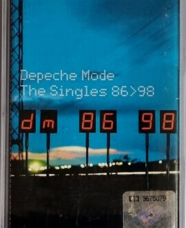DEPECHE MODE  THE SINGLES 86>98 audio cassette