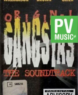 ORIGINAL GANGSTAS  THE SOUNDTRACK audio cassette