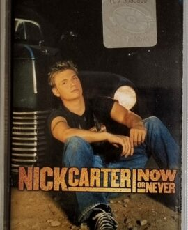 NICK CARTER  NOW OR NEVER audio cassette
