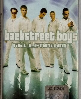 BACKSTREET BOYS  MILLENNIUM audio cassette