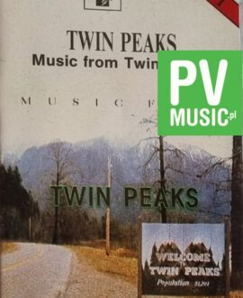 TWIN PEAKS  MUSIC FROM TWIN PEAKS audio cassette