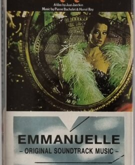 EMMANUELLE  ORIGINAL SOUNDTRACK MUSIC audio cassette