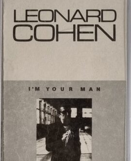 LEONARD COHEN  I'M YOUR MAN audio cassette