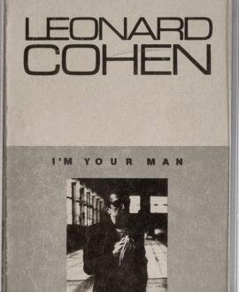 LEONARD COHEN  I'M YOUR MAN audio cassette