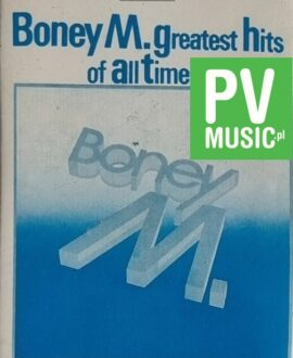 BONEY M.  GREATEST HITS audio cassette
