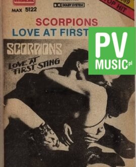 SCORPIONS  LOVE AT FIRST STING audio cassette