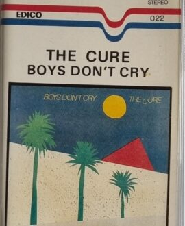 THE CURE  BOYS DON'T CRY audio cassette