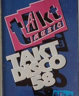 TAKT DISCO 58  DJ. BOBO, RADIORAMA..audio cassette