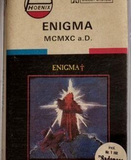 ENIGMA  MCMXC a.D. audio casette