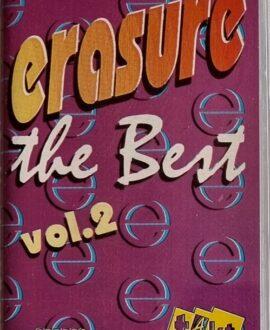 ERASURE  THE BEST vol.2 audio cassette
