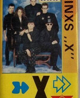 INXS  X audio cassette