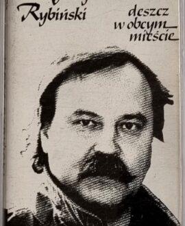 JERZY RYBIŃSKI  DESZCZ W OBCYM MIEŚCIE audio cassette