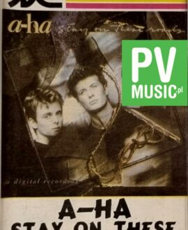 A-HA  STAY ON THESE ROADS audio cassette
