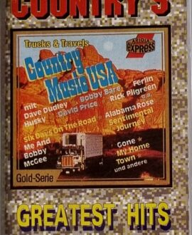 COUNTRY'S  GREATEST HITS audio cassette