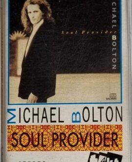 MICHAEL BOLTON  SOUL PROVIDER audio cassette