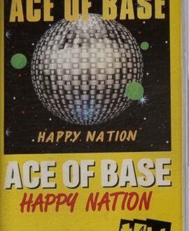 ACE OF BASE  HAPPY NATION audio cassette