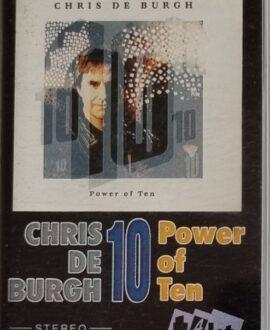 CHRIS DE BURGH  10 POWER OF TEN audio cassette