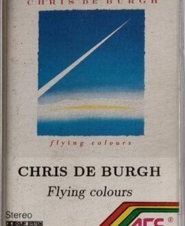 CHRIS DE BURGH  FLYING COLOURS audio cassette
