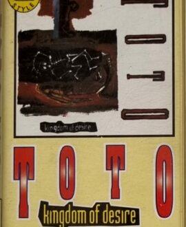 TOTO  KINGDOM OF DESIRE audio cassette
