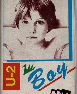 U2  BOY audio cassette