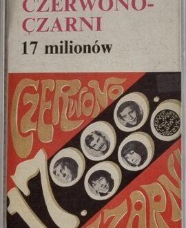 CZERWONO-CZARNI  17 MILIONÓW audio cassette