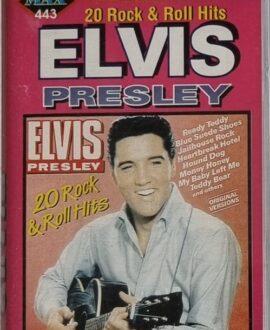 ELVIS PRESLEY  20 ROCK & ROLL HITS audio cassette