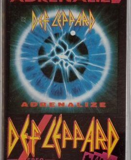 DEF LEPPARD  ADRENALIZE audio cassette