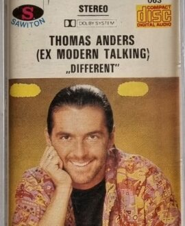 THOMAS ANDERS MODERN TALKING  DIFFERENT audio cassette