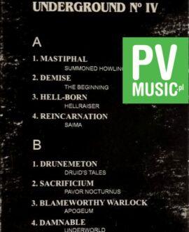 VOICES OF POLISH UNDERGROUND IV DEMISE, MASTIPHAL.. audio cassette