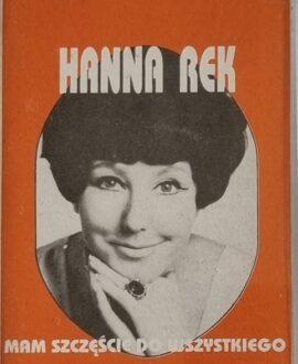 HANNA REK  MAM SZCZĘŚCIE DO WSZYSTKIEGO audio cassette