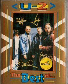 U2  THE BEST OF 2MC audio cassette