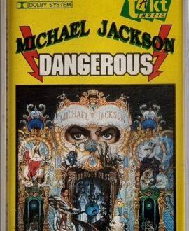MICHAEL JACKSON  DANGEROUS audio cassette