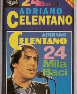 ADRIANO CELENTANO  MILA BACI audio cassette