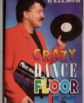 CRAZY DANCE FLOOR MIX  FELIX, CAPELLA...audio cassette