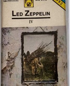 LED ZEPPELIN  IV audio cassette