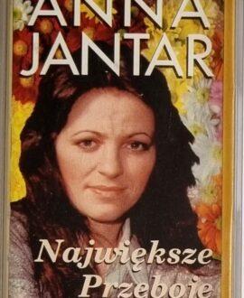 ANNA JANTAR  NAJWIĘKSZE PRZEBOJE audio cassette
