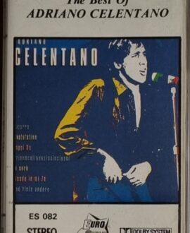 ADRIANO CELENTANO  THE BEST OF audio cassette