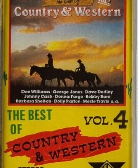 COUNTRY & WESTERN vol.4  JOHNNY CASH, DOLLY PATON... audio cassette