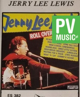 JERRY LEE LEWIS  ROLL OVER BEETHOVEN audio cassette