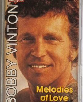 BOBBY VINTON  MELODIES OF LOVE audio cassette