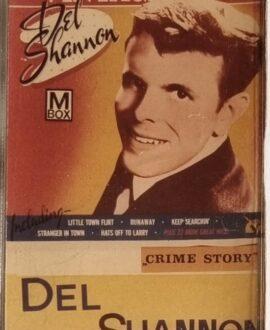 DEL SHANNON  CRIME STORY audio cassette
