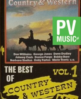 COUNTRY & WESTERN vol.1  DON WILLIAMS, BOBBY BARE...audio cassette